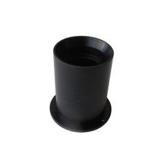 Custom plastic flange bushing, cnc machined plastic bushing with flange