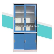 sliding glass door metal cabinet