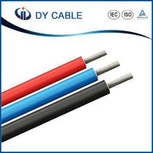 Câble solaire PV de fil de cuivre étamé pour le système photovoltaïque