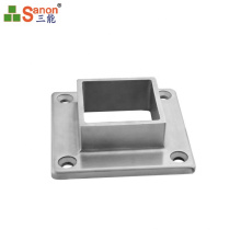 High Quantity SS 304 Premium Materials Stainless Steel Handrail Post Flange