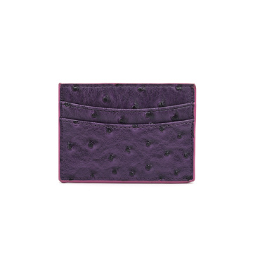 Custom Brand Promotional Gifts Genuine Leather Card Holder