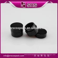 SRS échantillon gratuit vide cosmétique 8g pâte de crème Petg noir