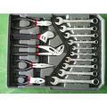 Инструмент Powertec набор ручного 186PCS с алюминиевым корпусом