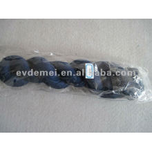 Long plain color crumpled scarf viscose