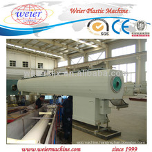 pvc plastic pipe machine