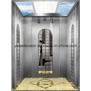 Ascenseur de passager avec traction de levage sans engrenage (JQ-B026)