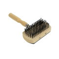 Wooden Handle Reduce Shedding comb