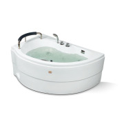Vasca da bagno per il controllo del computer a semicerchio