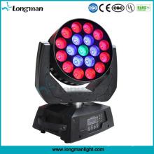 19*15W RGBW Zoom LED Moving Head Sky Beam Light