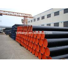 Galvanisation à chaud SSAW ASTM A106 sch40 Tubes en acier sans soudure
