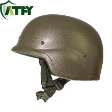 Casco de combate avanzado PASGT Casco balístico de nivel IIIA Casco personalizado a prueba de balas para protección militar