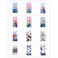 2017 New Sweet Girl Casual A Line Cartoon Print Baby Girl Summer Dress