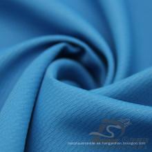Water & Wind-Resistant Outdoor Sportswear Chaqueta tejida tejido Jacquard 100% poliéster Pongee tela (E062)