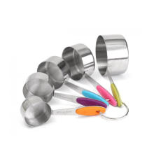 Tasses à mesurer en acier inoxydable