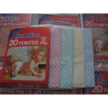 Pañales desechables de PVC para bebés / para pañales nuevos