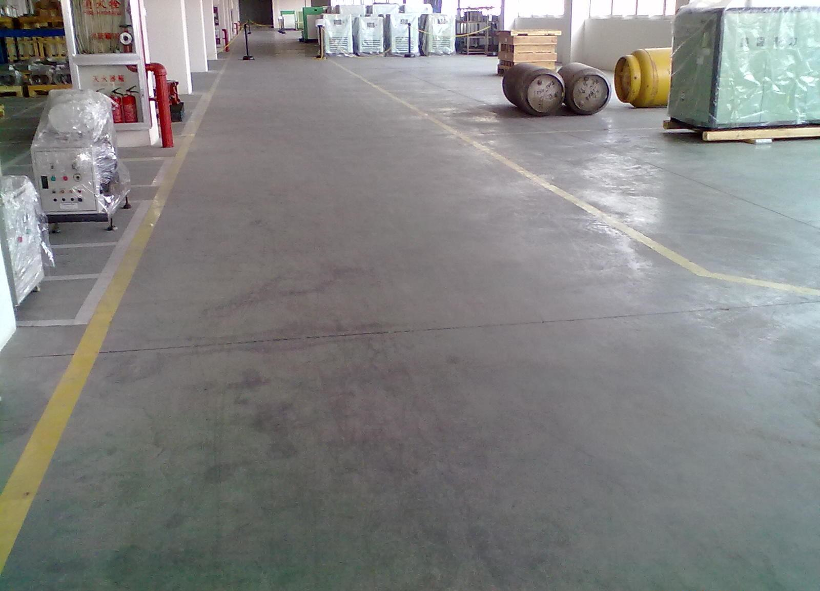 Light Gray Floor Material