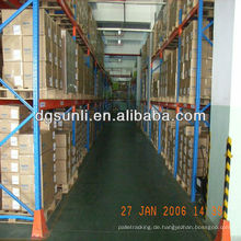 Warehouse Rohstoff Licht und schwere Paletten Regale