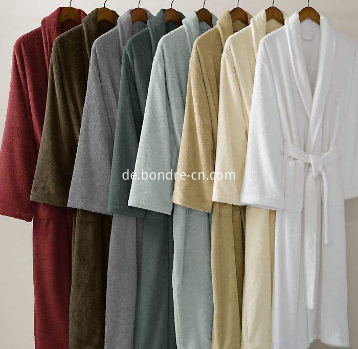 Mesns terry bathrobe