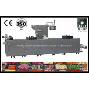 Dlz-460 Full Automatic Continuous Stretch Beef Vacuum Packaging Machine