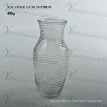 Günstigste ein Dollar Baum Glas Vase Nizza Form