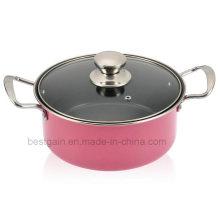 Panela de sopa de panela de aço inoxidável