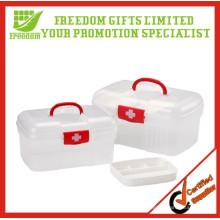 Boîtes en plastique de kit de premiers secours de haute qualité pour la maison et le bureau