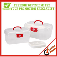 High Quality Plastic First Aid Kit Boxes for Home and Office use