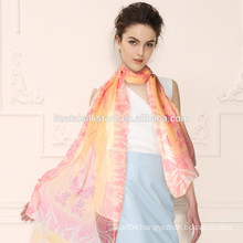 Noble Fashion Women's Long Soft Wrap Lady Shawl Silk Chiffon Scarf