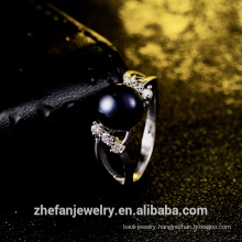 fashion jewelry 2018 wholesale jewelry manufacturer pearl ring