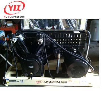 6CFM 580PSI Hengda high pressure used refrigerator compressor scrap