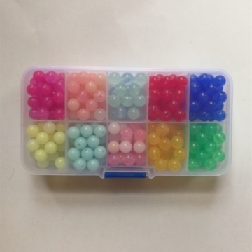Loose Various Acrylic Beads for DIY Making