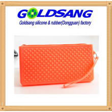 Women′s Silicone Cion Purse Candy Color Phone Bags