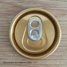 52 мм 202 Rpt Sot Easy Open End Eoe для 250 мл 330 мл Алюминиевый напиток Can