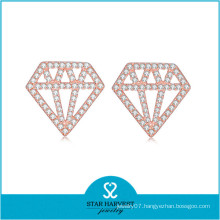 Genuine 925 Silver Styles of Earrings Jewelry (E-0249)
