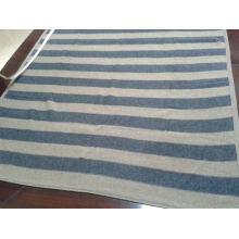 super soft luxury knitted cashmere blanket, 100% cashmere baby blanket