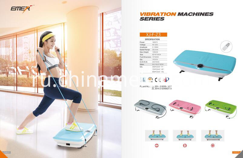 Double motors vibration machine