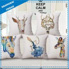 Almohada de almohada de imitación de lino