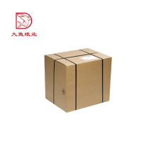Made in China commercial custom size square shipping corrugated boxes