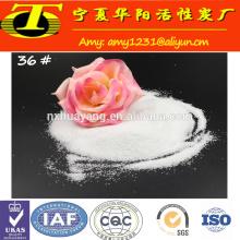 Grado abrasivo AL2O3 99.5% de alúmina fundida blanca para pulir
