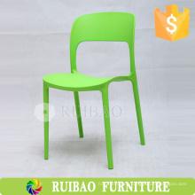 2016 de alta calidad apilable sin brazo Cena modelos de plástico de la silla y el precio