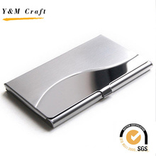 Hot Sell Promotional Stainless Steel Business Name Case Cardholder