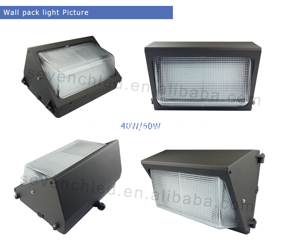 40w led wall pack