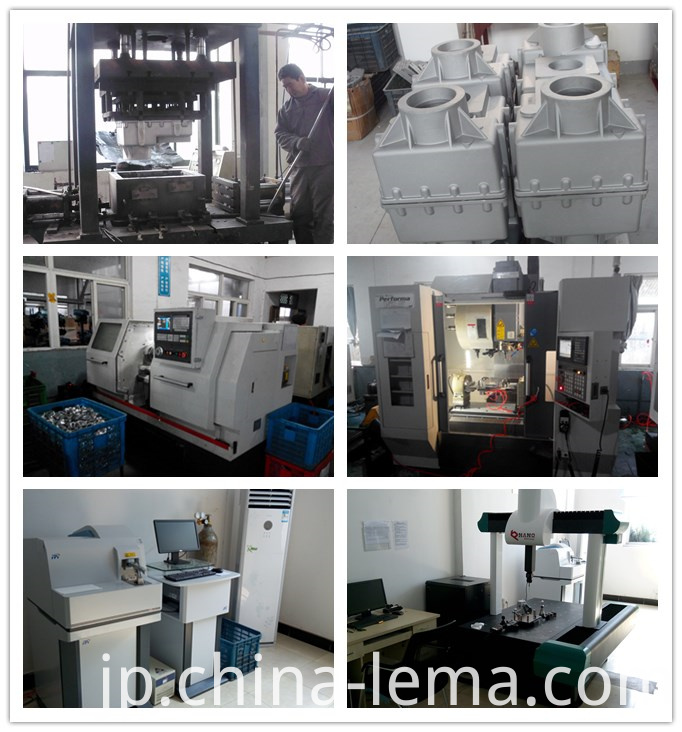 Low pressure casting production