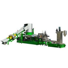 PP film granulator with Water ring hot cutting die for plas
