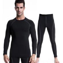 Fitness & Sports Men Activewear Terno Alta Elastic Leggings Formação Vestuário