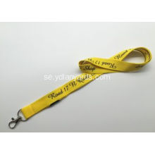 Flat Polyester Silk Screen Lanyards 2,0cm Lanyards