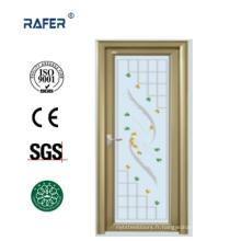 Porte de chambre en aluminium de couleur dorée (RA-G121)