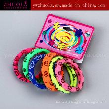 Círculo colorido colorido por atacado do cabelo