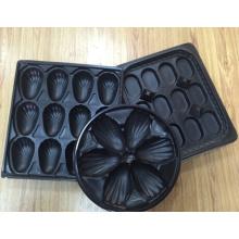 China Fabrik Preis Großhandel Irland Meistverkauften Thermogeformten Blister Oyster Verpackung Kunststoff Oyster Servierplatte Tablett für Meeresfrüchte Verpackungsindustrie