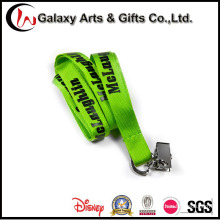 Screen Printing Nylon Custom Lanyard for Badge Holder